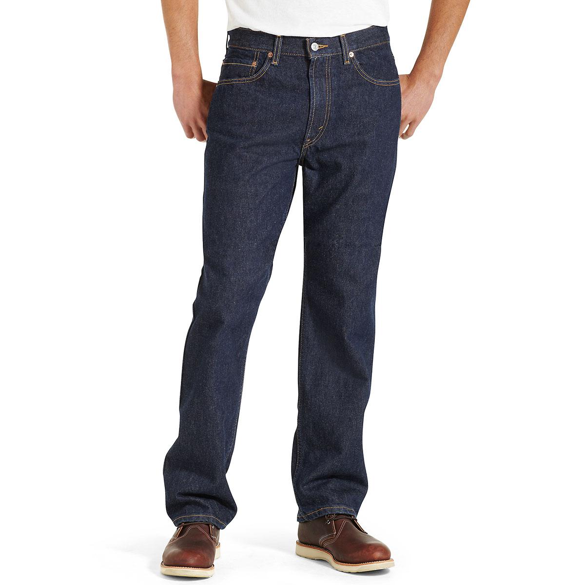Levi's Men's 505 Regular Fit Jeans - Blue, 34/29