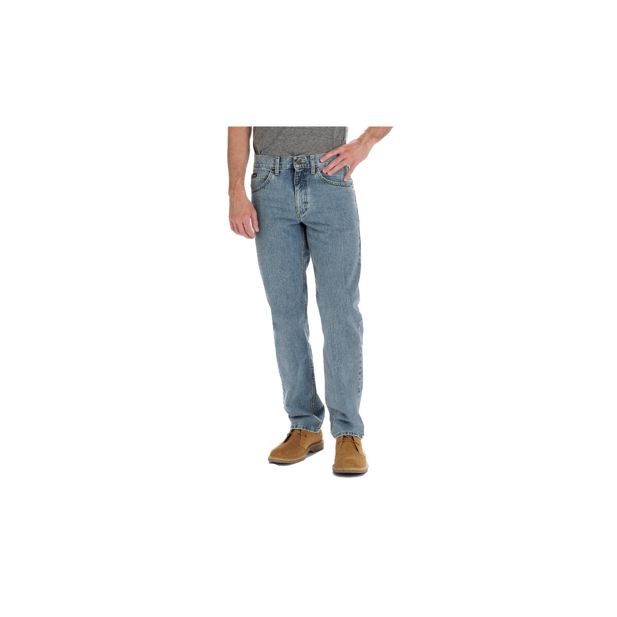 LEE Men's Relaxed Fit Tapered Leg Jeans