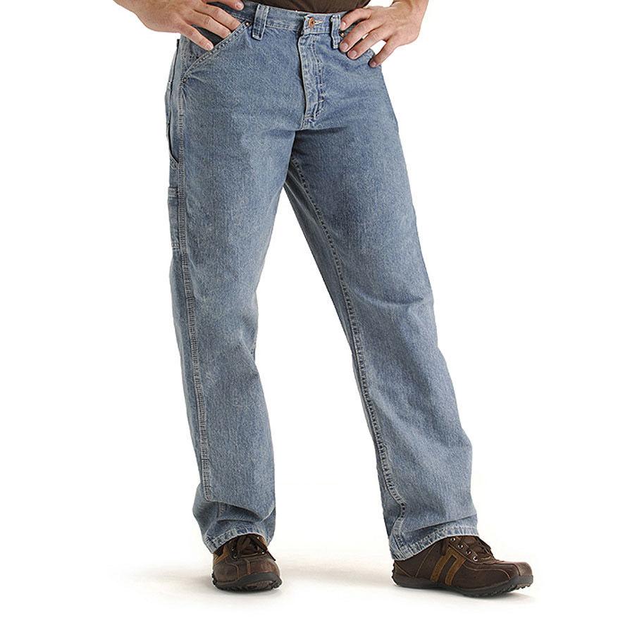 LEEA Men's Carpenter Jeans - Blue, 29/34