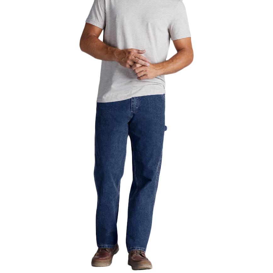 LEEA Men's Carpenter Jeans - Blue, 34/30