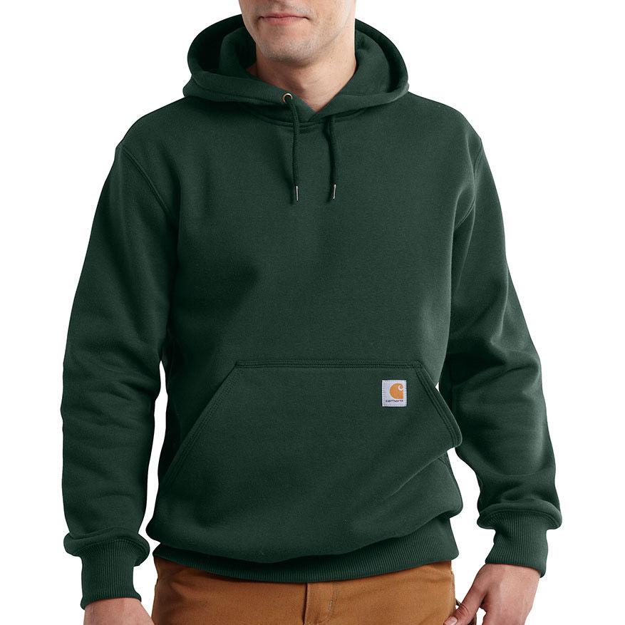 Carhartt Men's Paxton Hooded Sweatshirt - Green, S