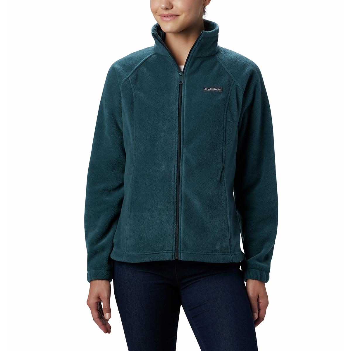 Columbia Women's Benton Springs Fleece Jacket - Blue, S