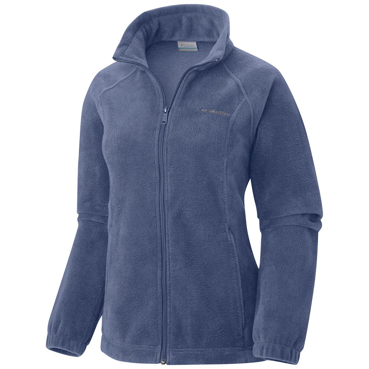 Columbia Women's Benton Springs Fleece Jacket - Blue, S