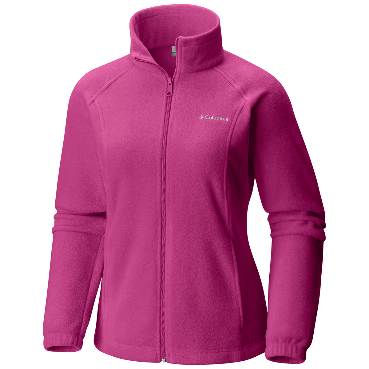 Columbia Women's Benton Springs Fleece Jacket - Red, M