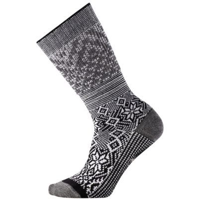 Smartwool Snowflake Flurry Socks - Black, S