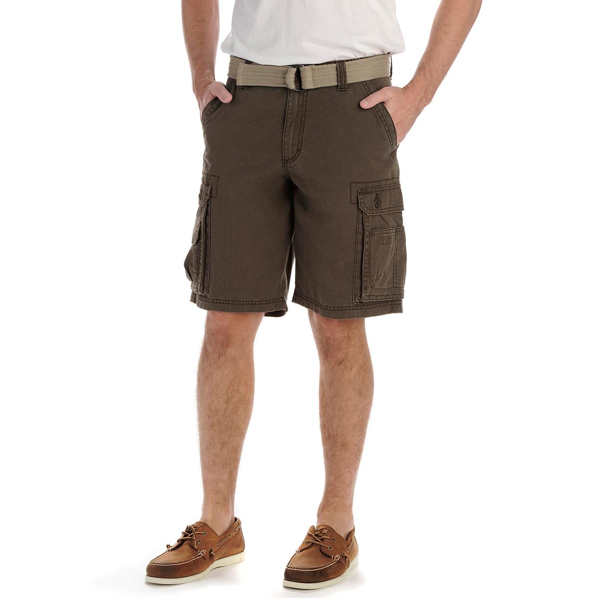 LEE Men's Dungarees Wyoming Twill Cargo Shorts - Black, 30