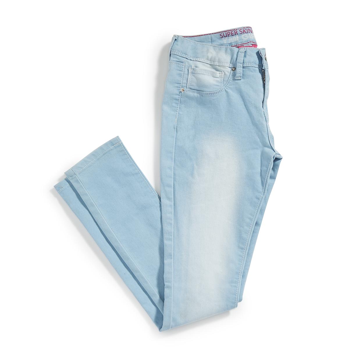 YMI Girls' Basic Skinny Denim Jeggings - Blue, 14