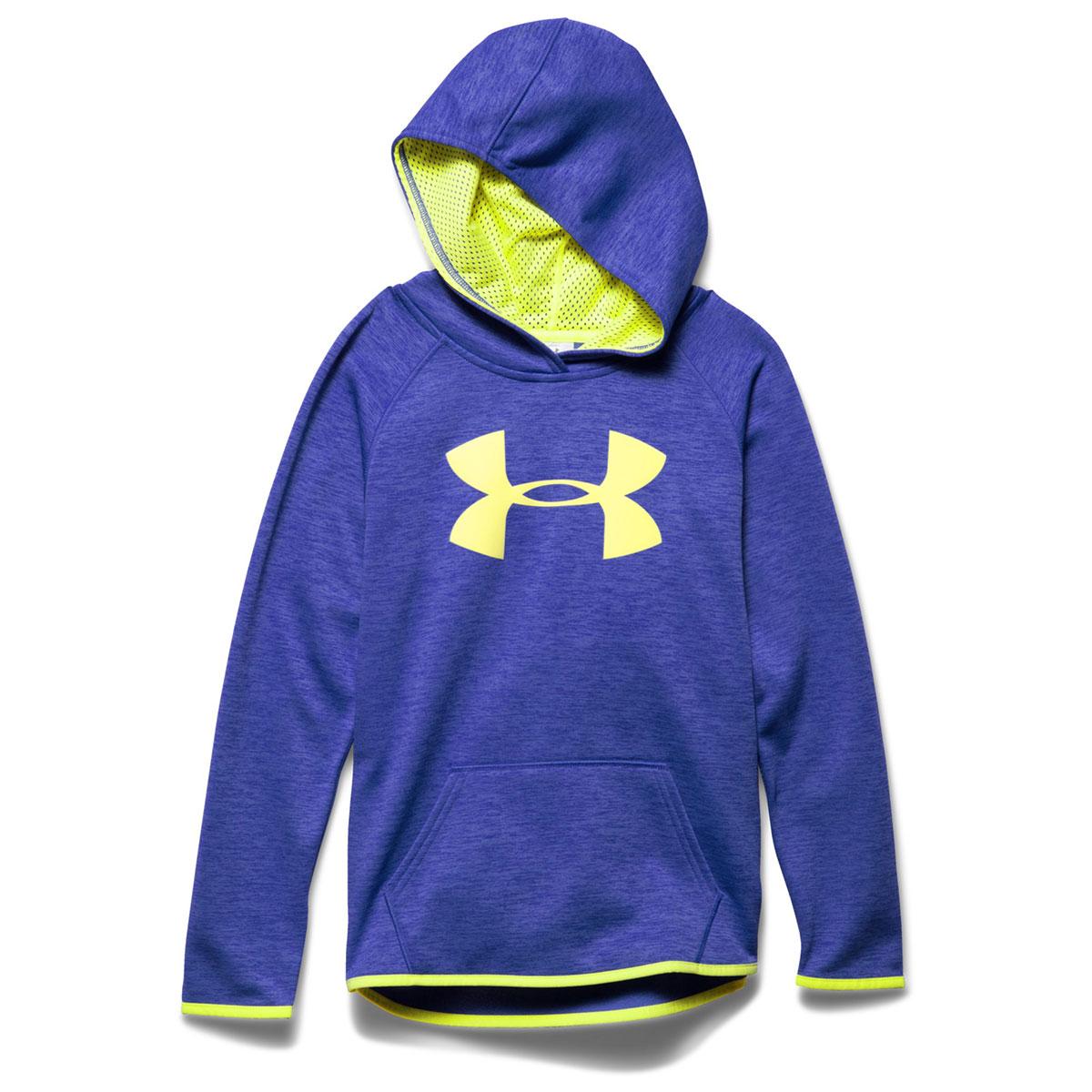 8478fdbd UNDER ARMOUR Girls' UA Armour Fleece Printed Big Logo Hoodie - Bob's ...