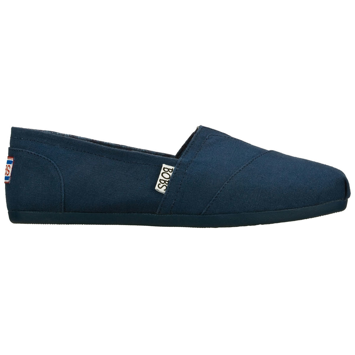 Bobs Plush Canvas Shoes, Navy