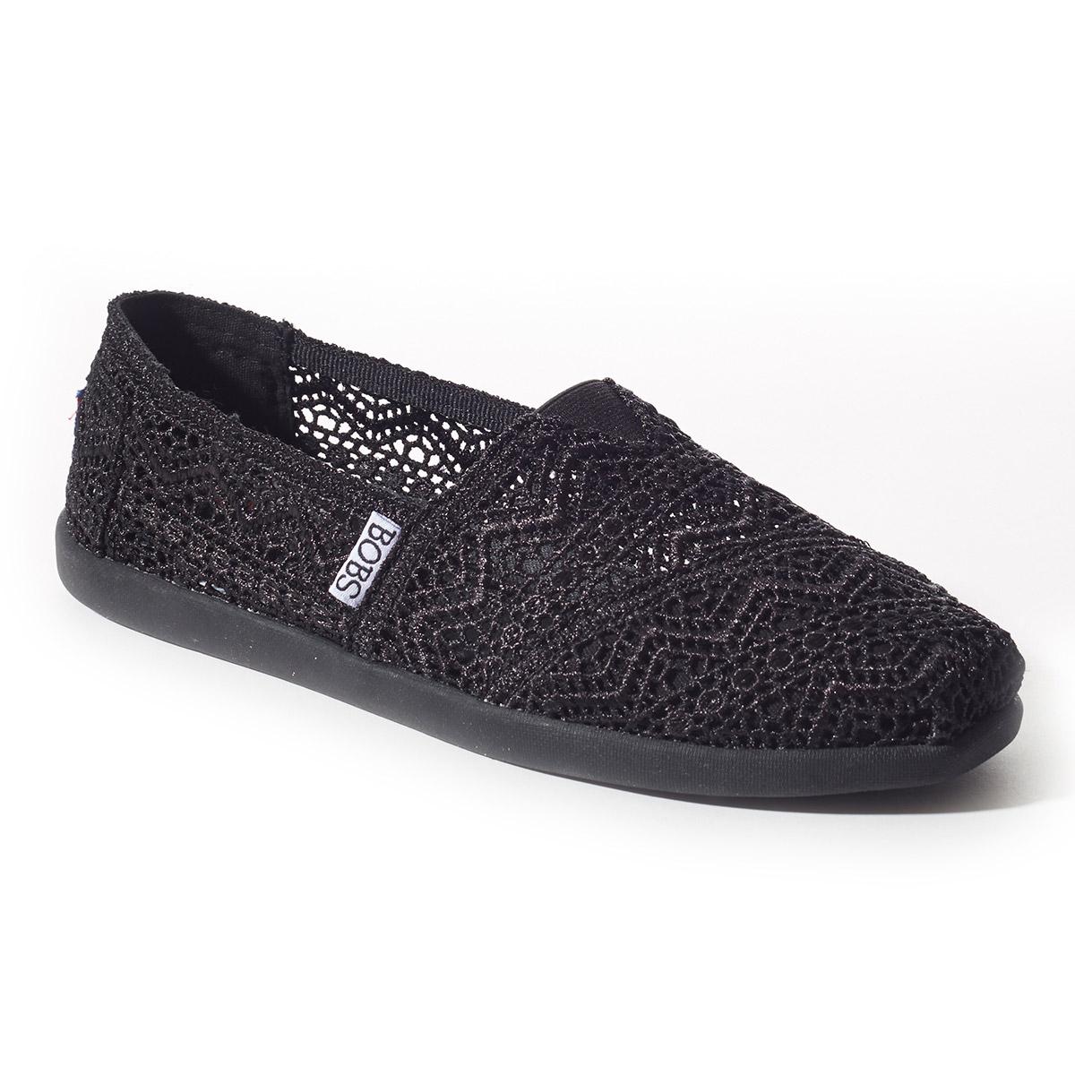 BOBS World Zig Zag Crochet Shoes