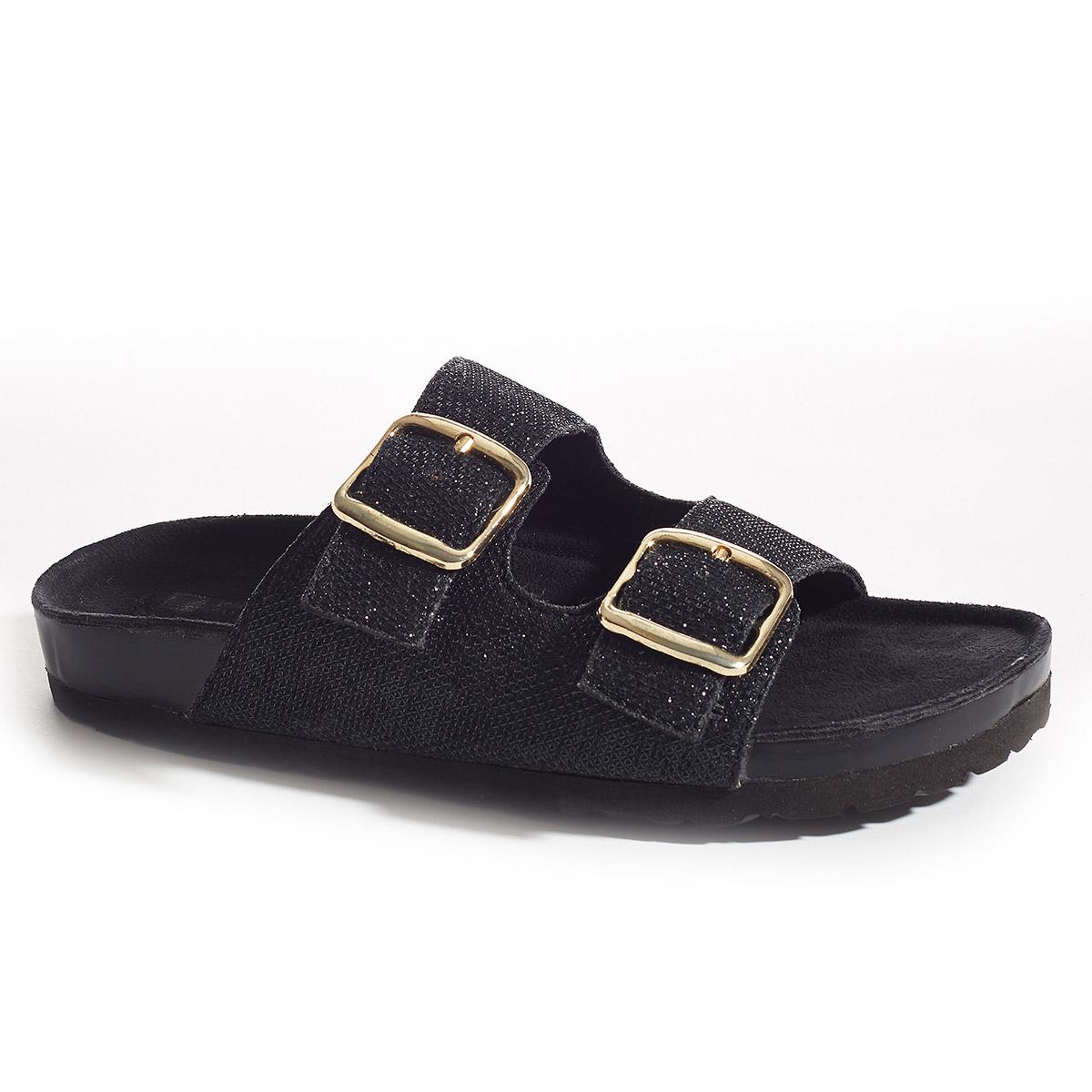 Horizontal Sparkle Sandals