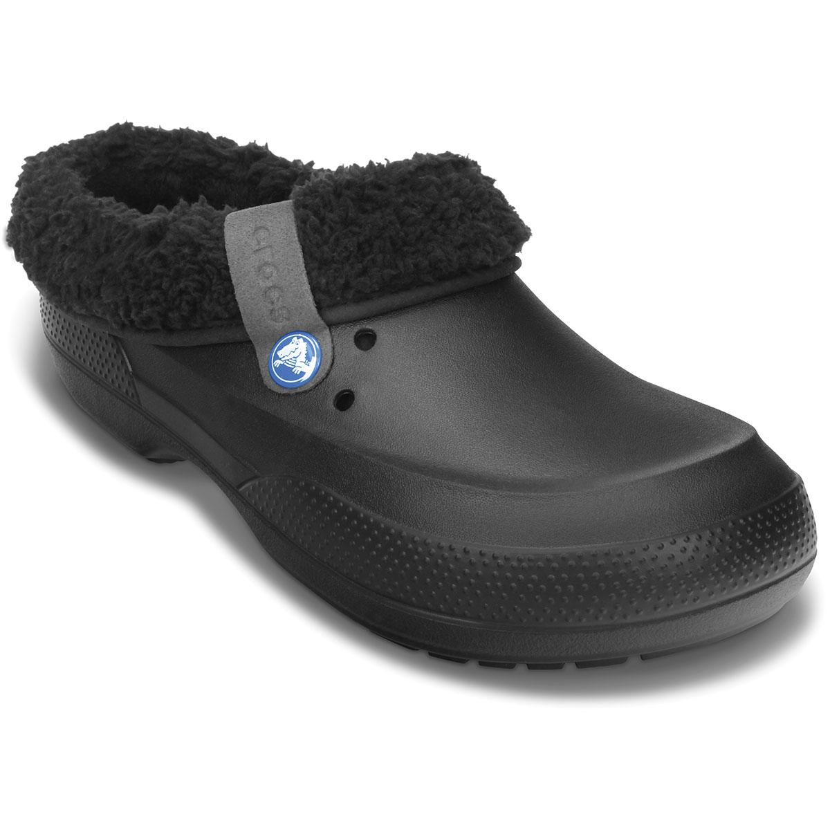 Crocs Unisex Blitzen Ii Fuzz Lined Clog - Black, 14