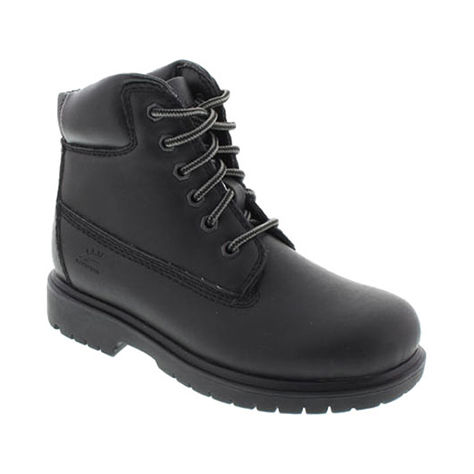 Deer Stags Kids' Mack 2 Work Boot - Black, 1