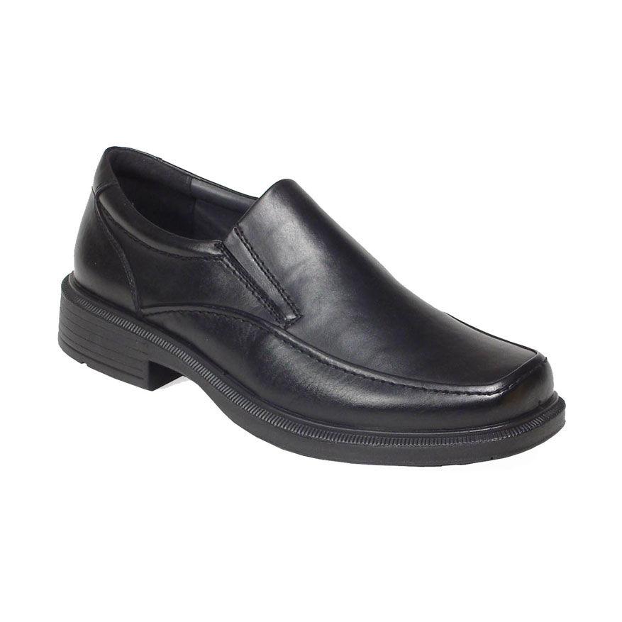 Deer Stags Men's Brooklyn Slip-On Shoes - Black, 7.5