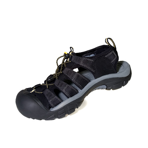 Keen Men's Newport H2 Sandals - Black, 13