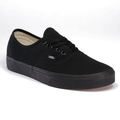 Vans Men's Authentic Shoes - Black, 6