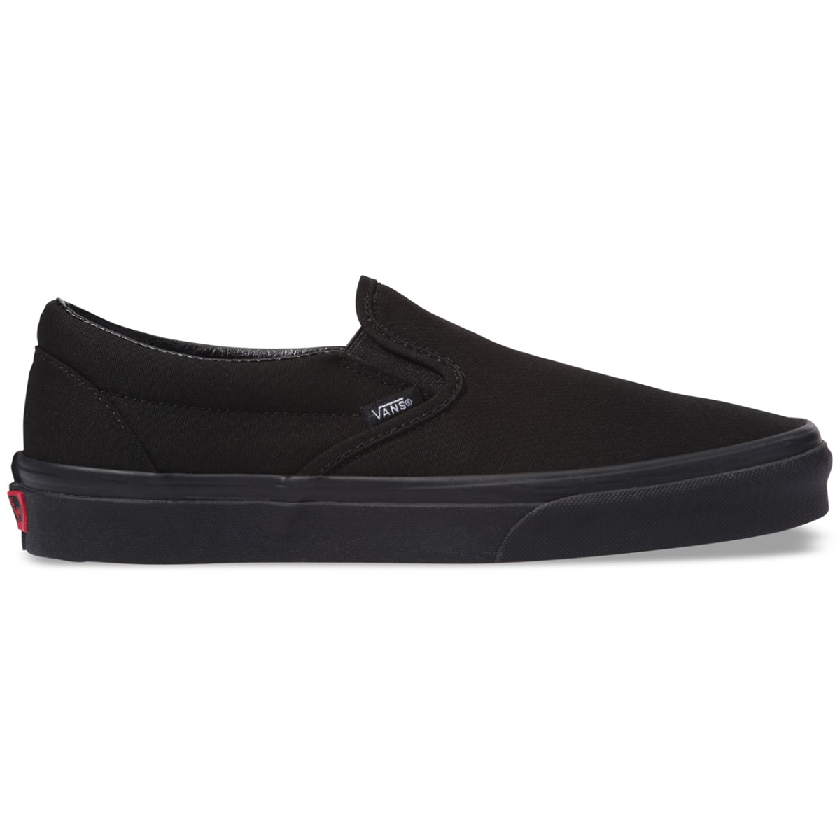 Vans Unisex Classic Slip-On Shoes - Black, 10.5