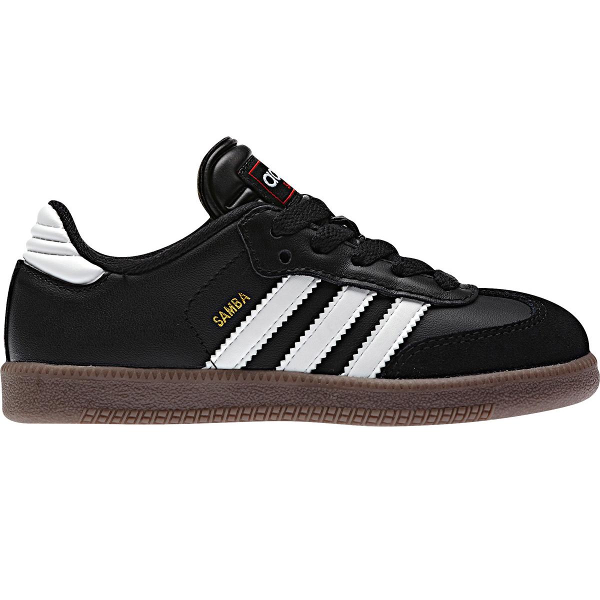 Adidas Kids' Samba Classic Soccer Shoe - Black, 3.5