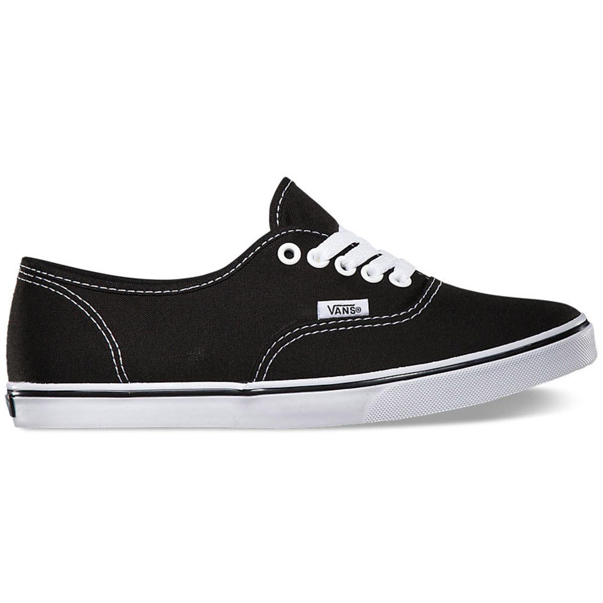 Vans Unisex Authentic Lo Pro Shoes - Black, 9
