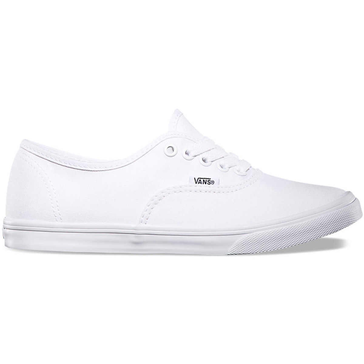 Vans Unisex Authentic Lo Pro Shoes - White, 10