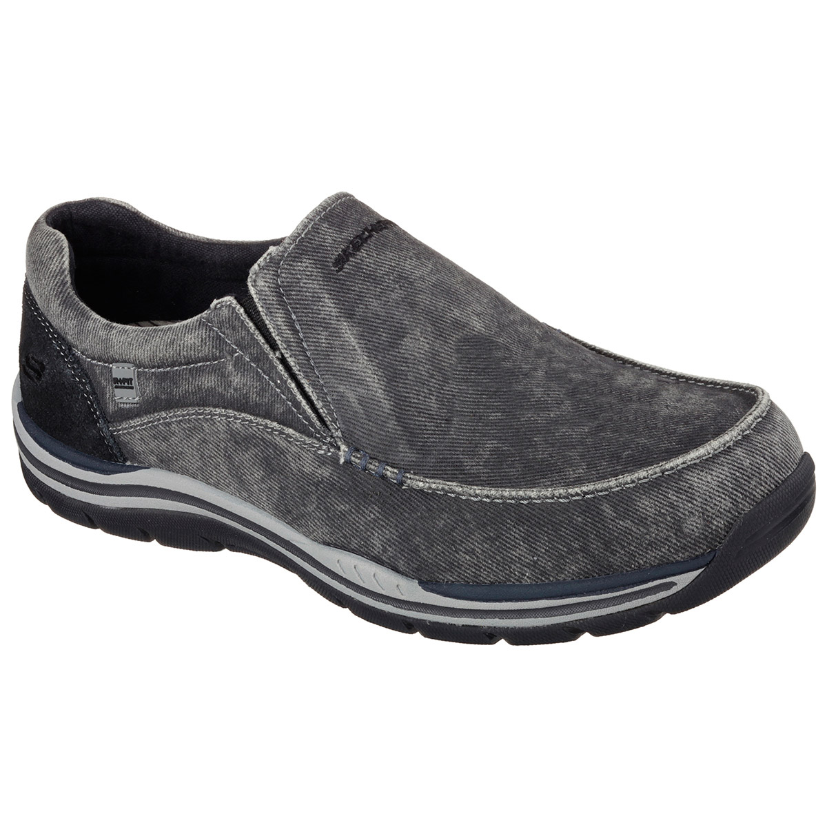 Skechers Men's Relaxed Fit: Expected - Avillo - Black, 12