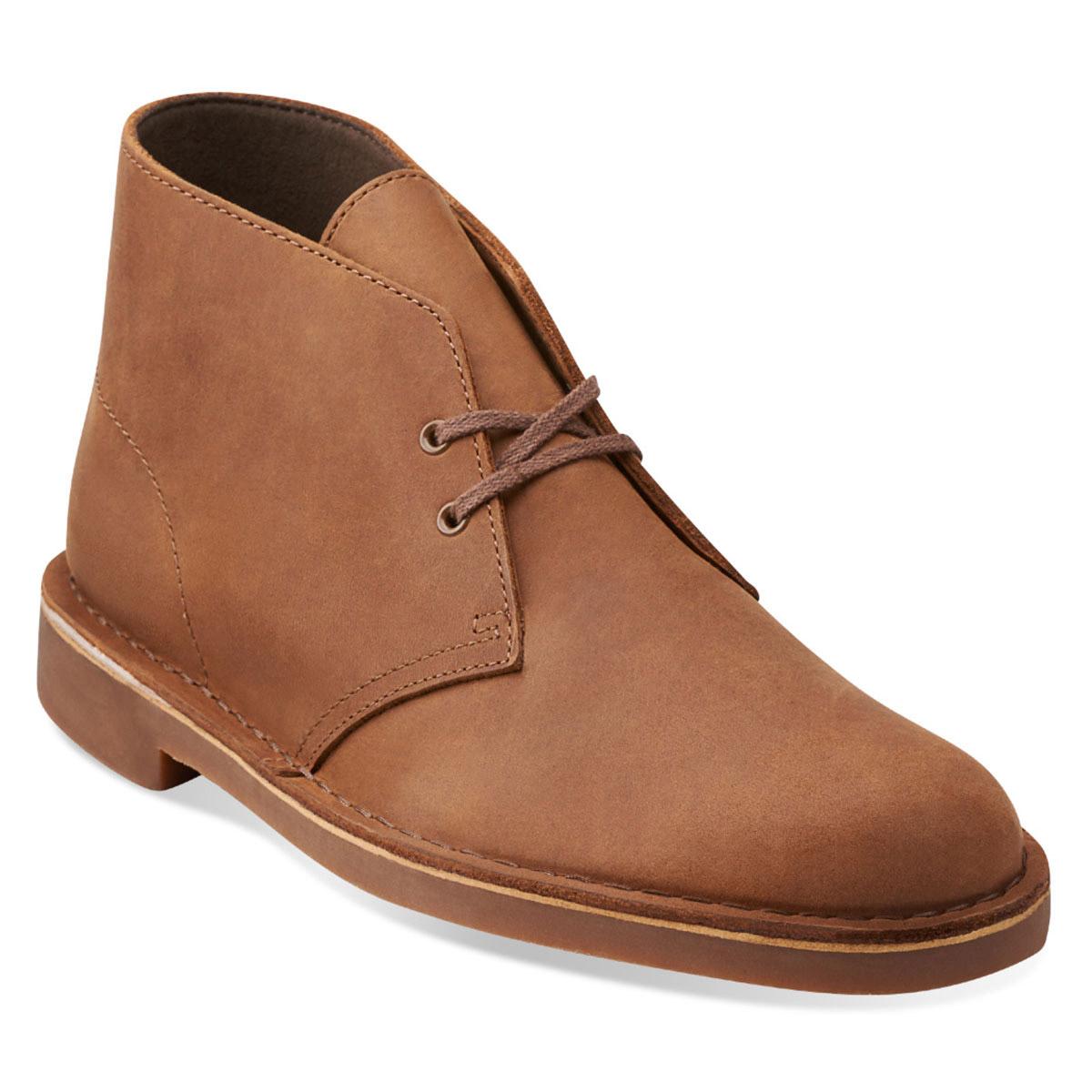 Clarks Men's Bushacre Chukka - Brown, 10