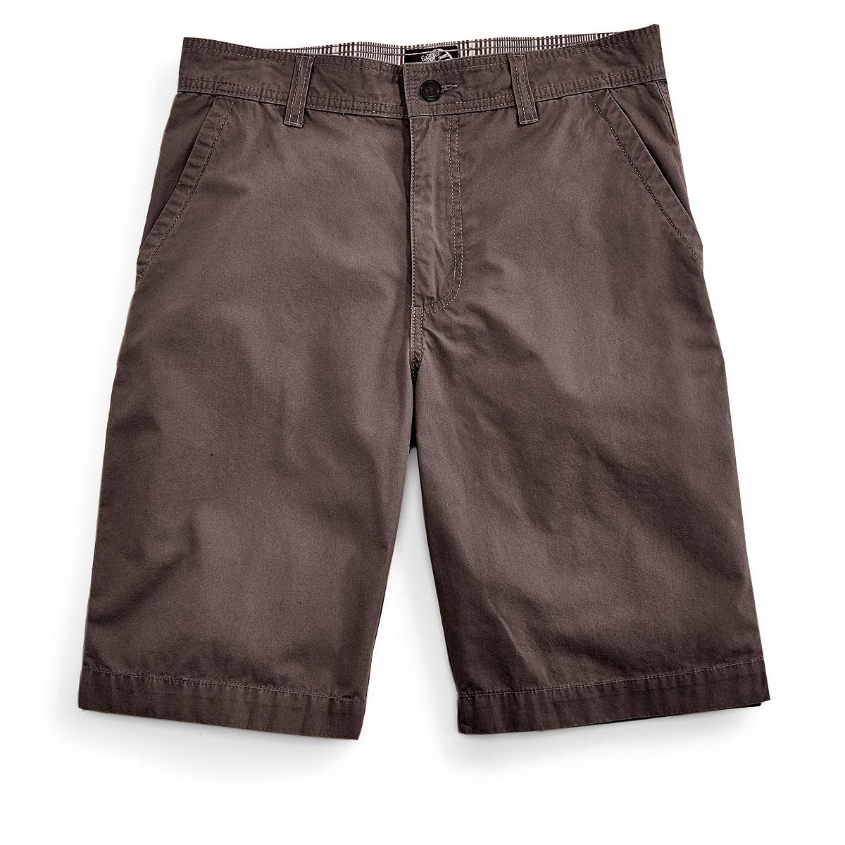 D55 Guys' Flat Front Shorts - Black, 32