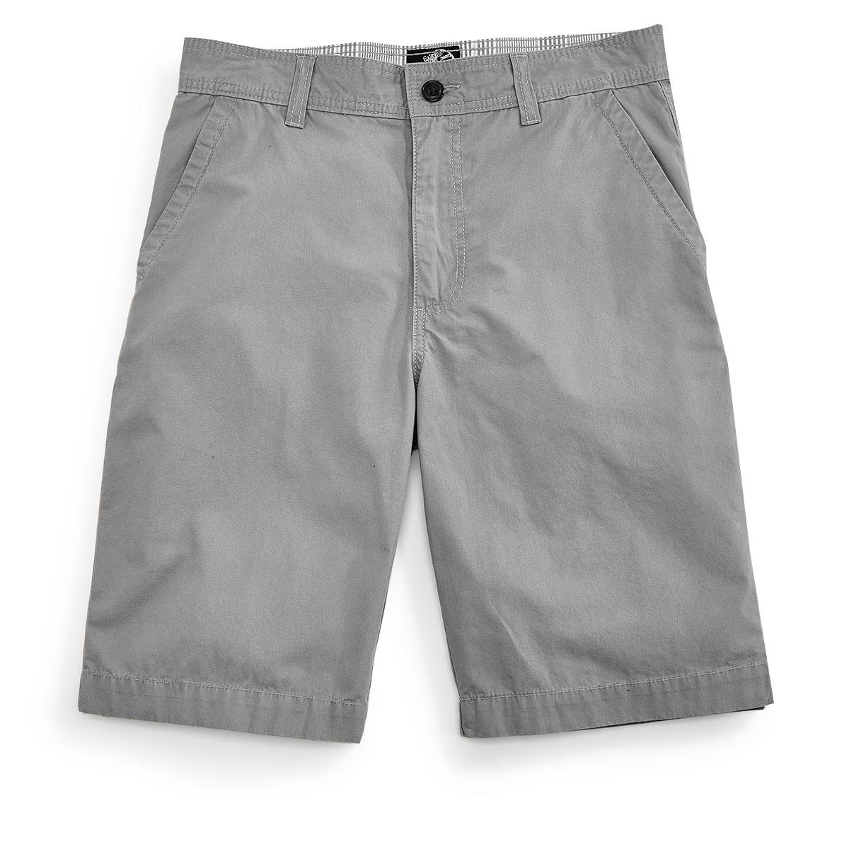 D55 Guys' Flat Front Shorts - Black, 29