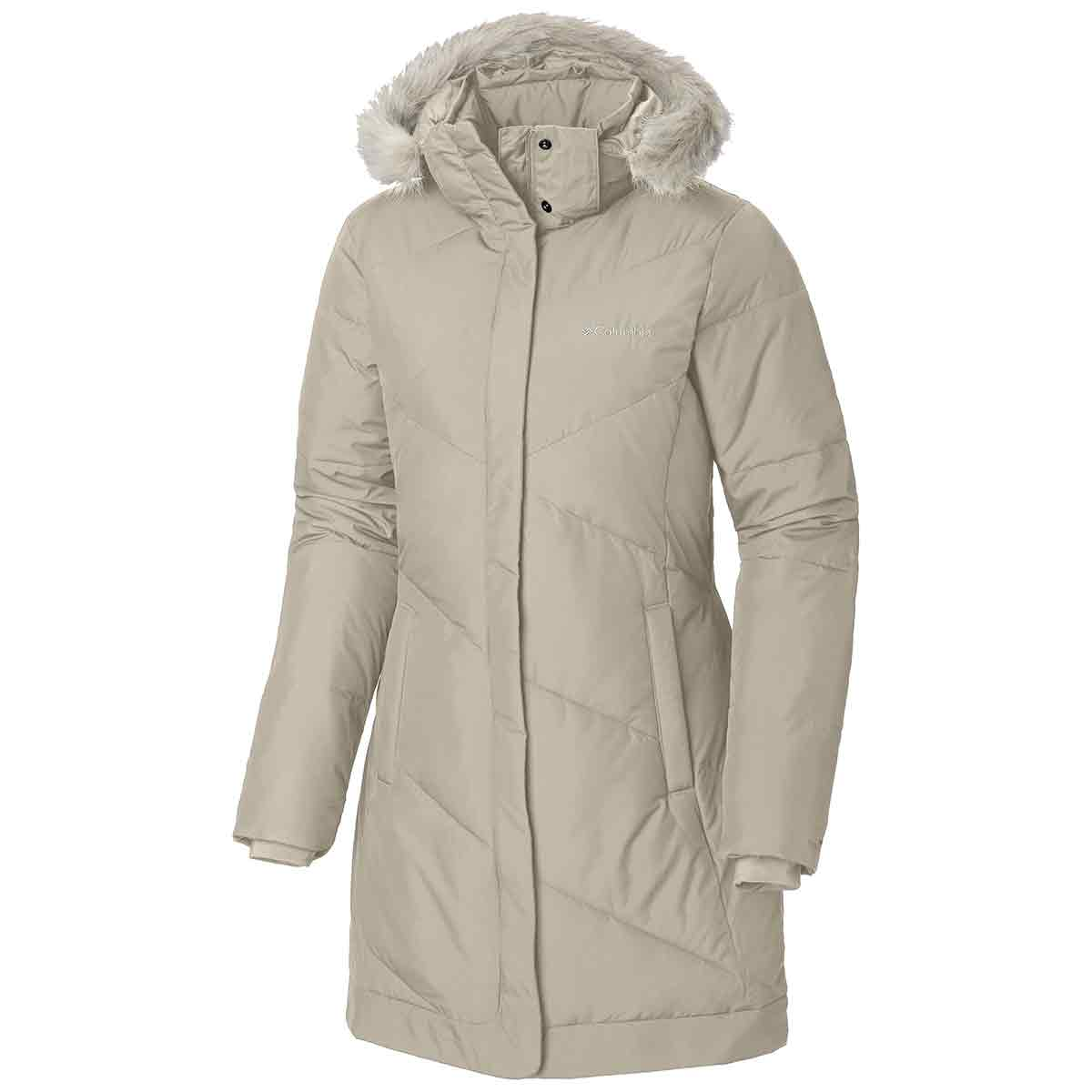Columbia Women's Snow Eclipse Mid Jacket - White, L