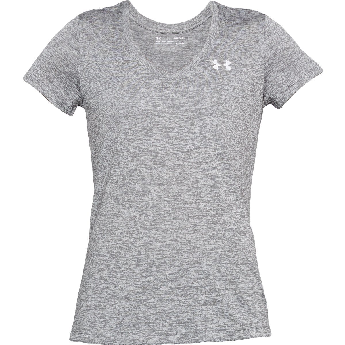 Under Armour Women's Tech Twist V-Neck Tee - Black, S