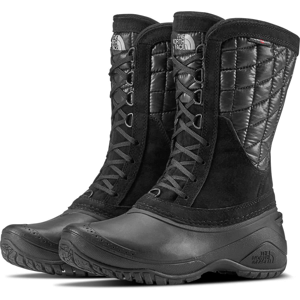 The North Face Women's Thermoball Utility Mid Boots, Black