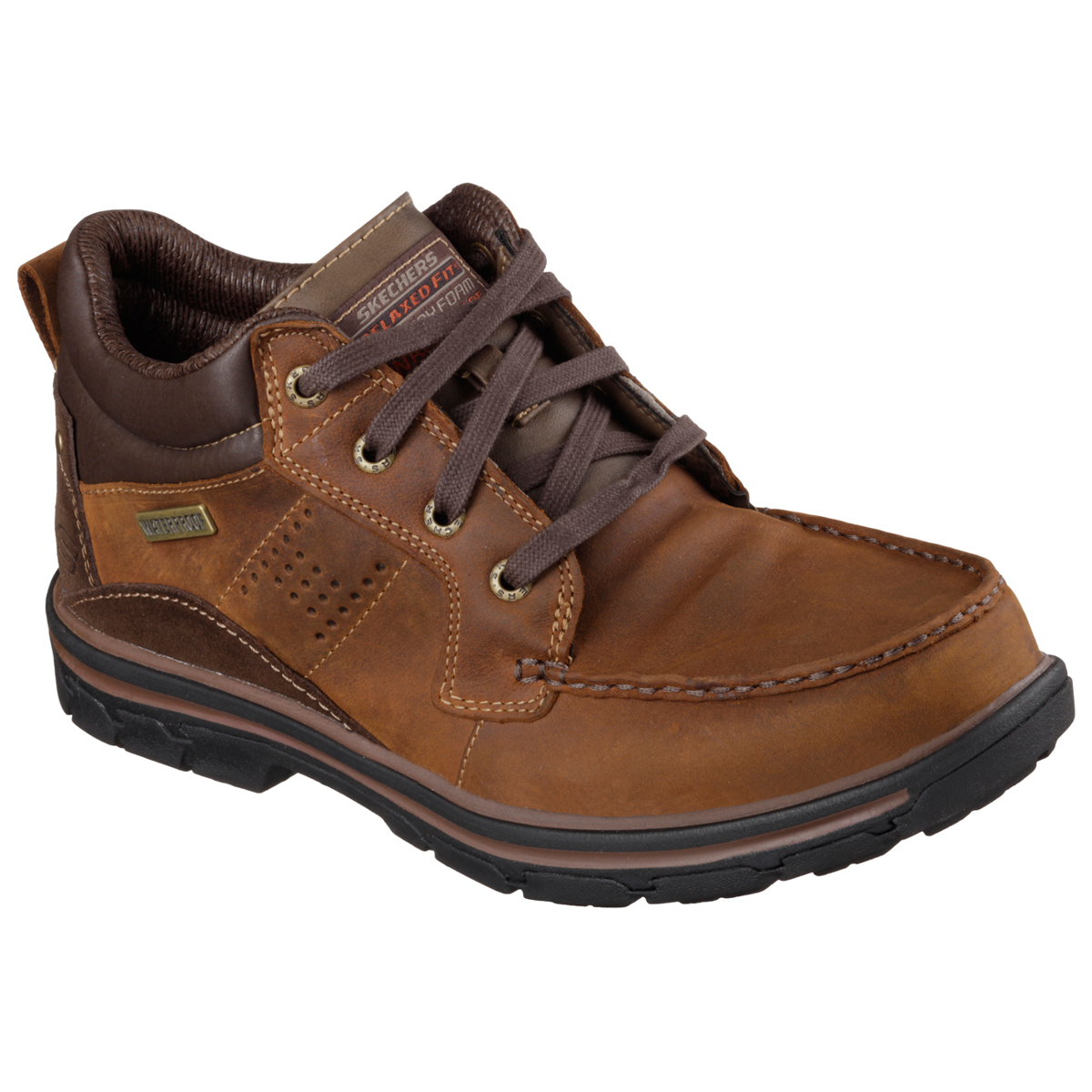 Skechers Men's Melego Shoes - Brown, 10.5