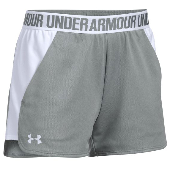 Under Armour Women's Play Up Shorts - White, S