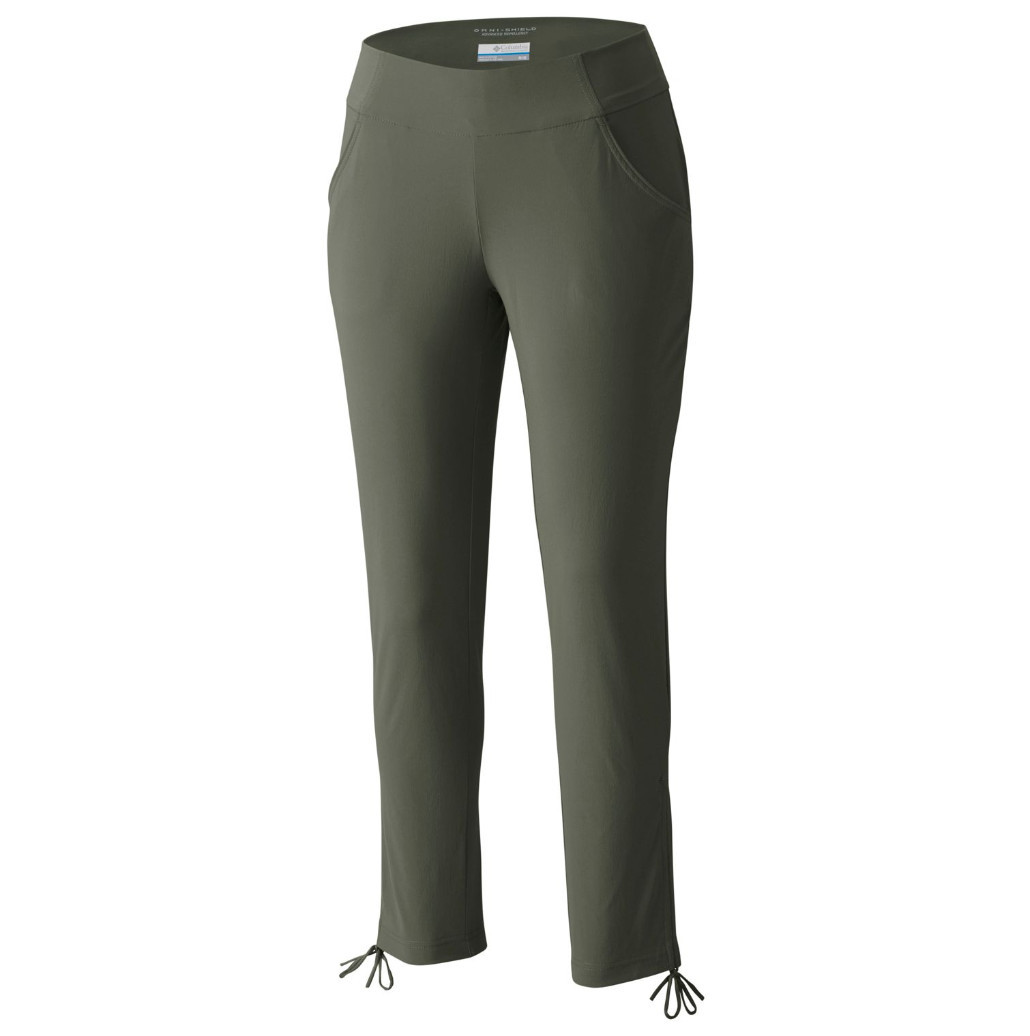 Columbia Women's Anytime Casual Ankle Pants - Green, L