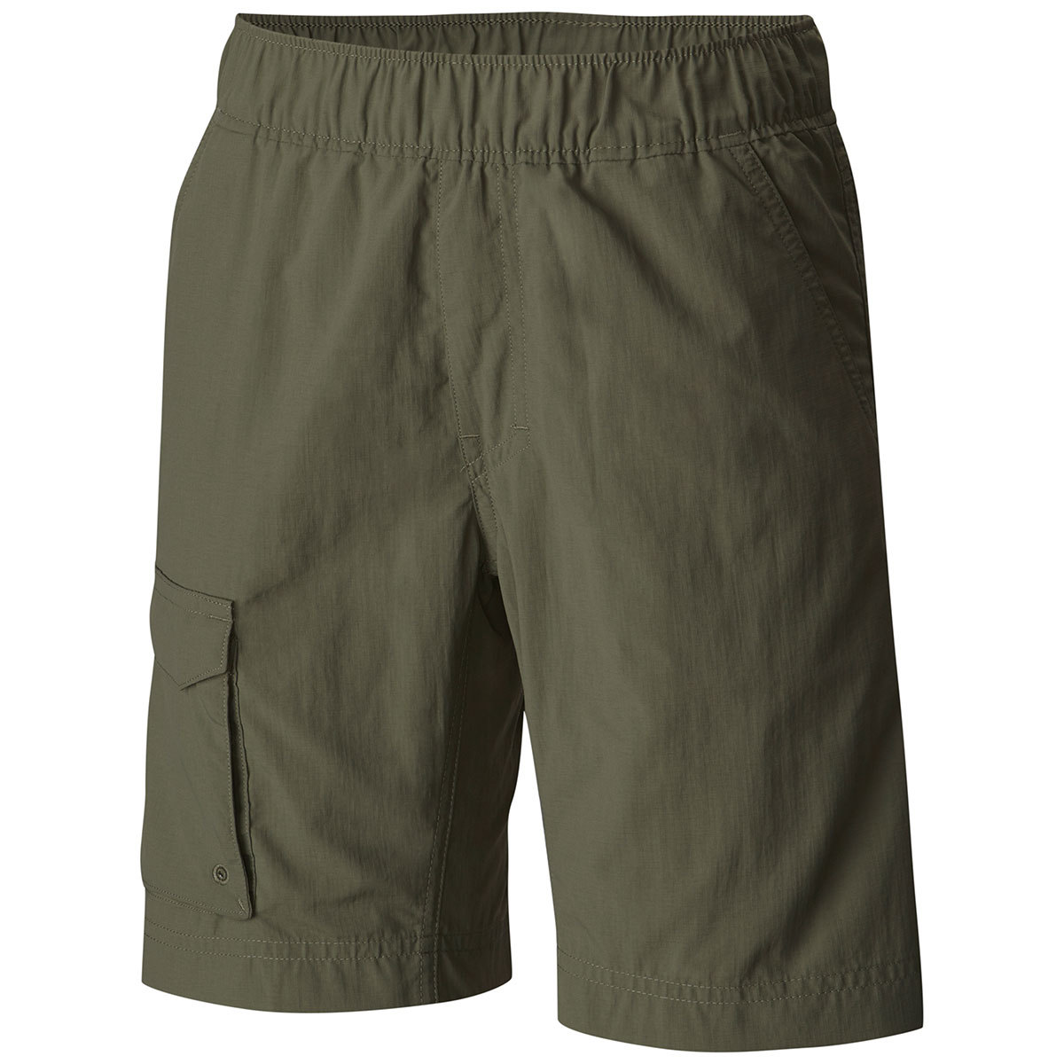 Columbia Boys' Silver Ridge Pull-On Shorts - Green, L