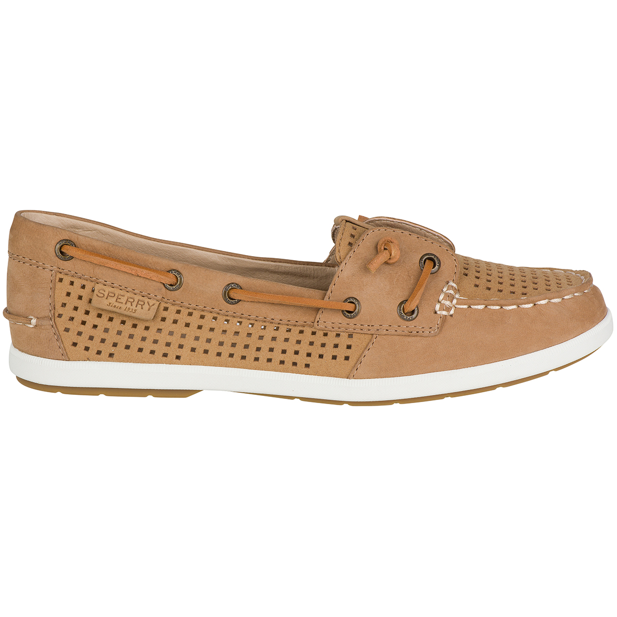 Coil Ivy Perforated Boat Shoes