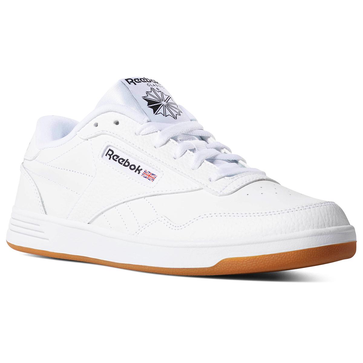 Reebok Men's Club Memt Gum Sole Shoes - White, 11.5
