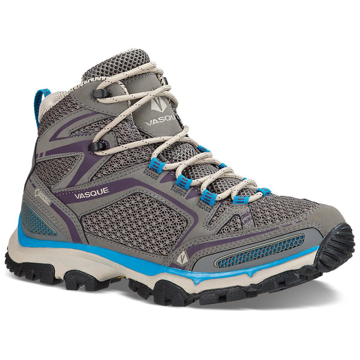 Vasque Women's Inhaler Ii Gtx Hiking Boots, Moon Mist/plum - Black, 8