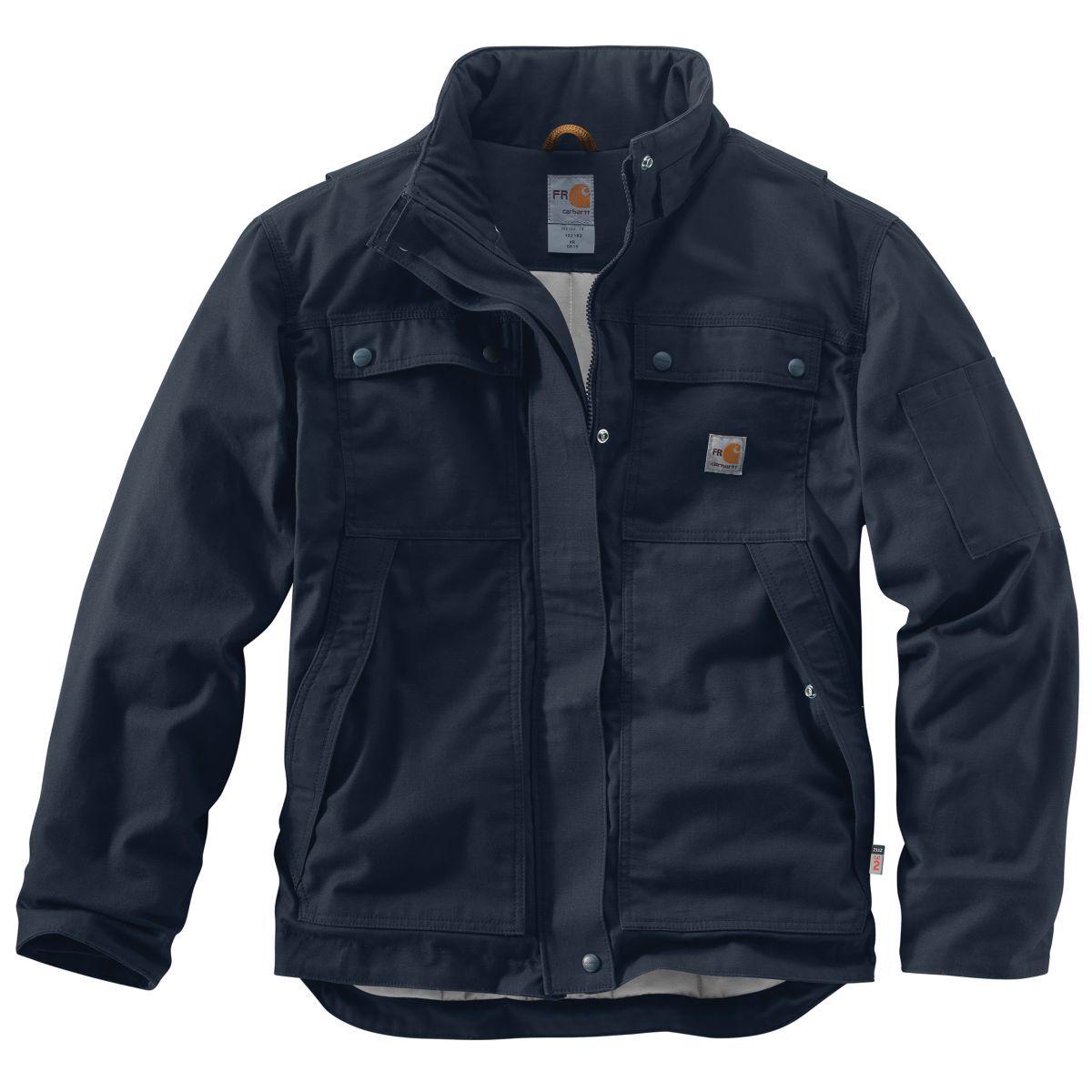 Carhartt Men's Full Swing Quick Duck Coat, Extended Sizes - Blue, XL TALL