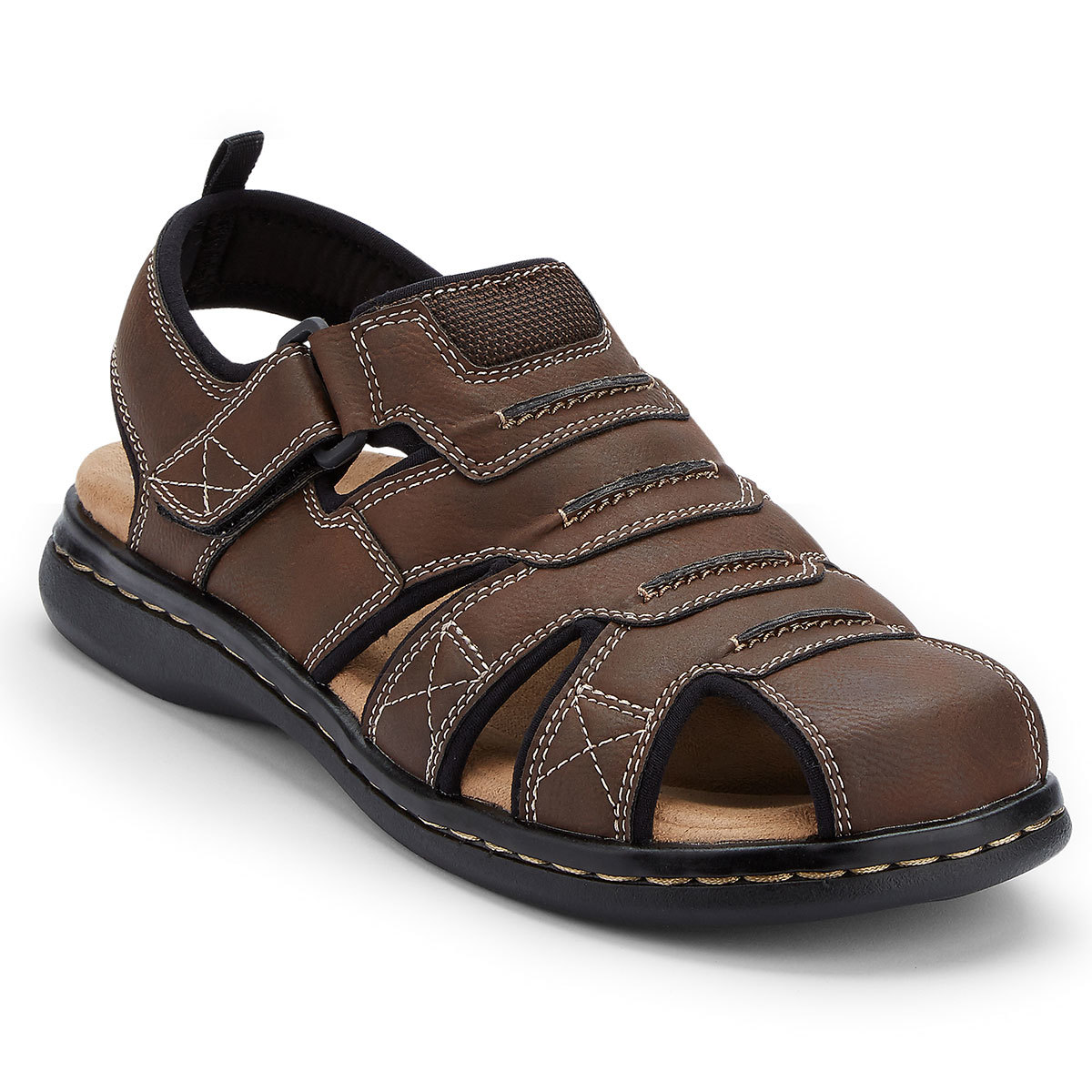 Dockers Men's Searose Fisherman Sandals - Brown, 13