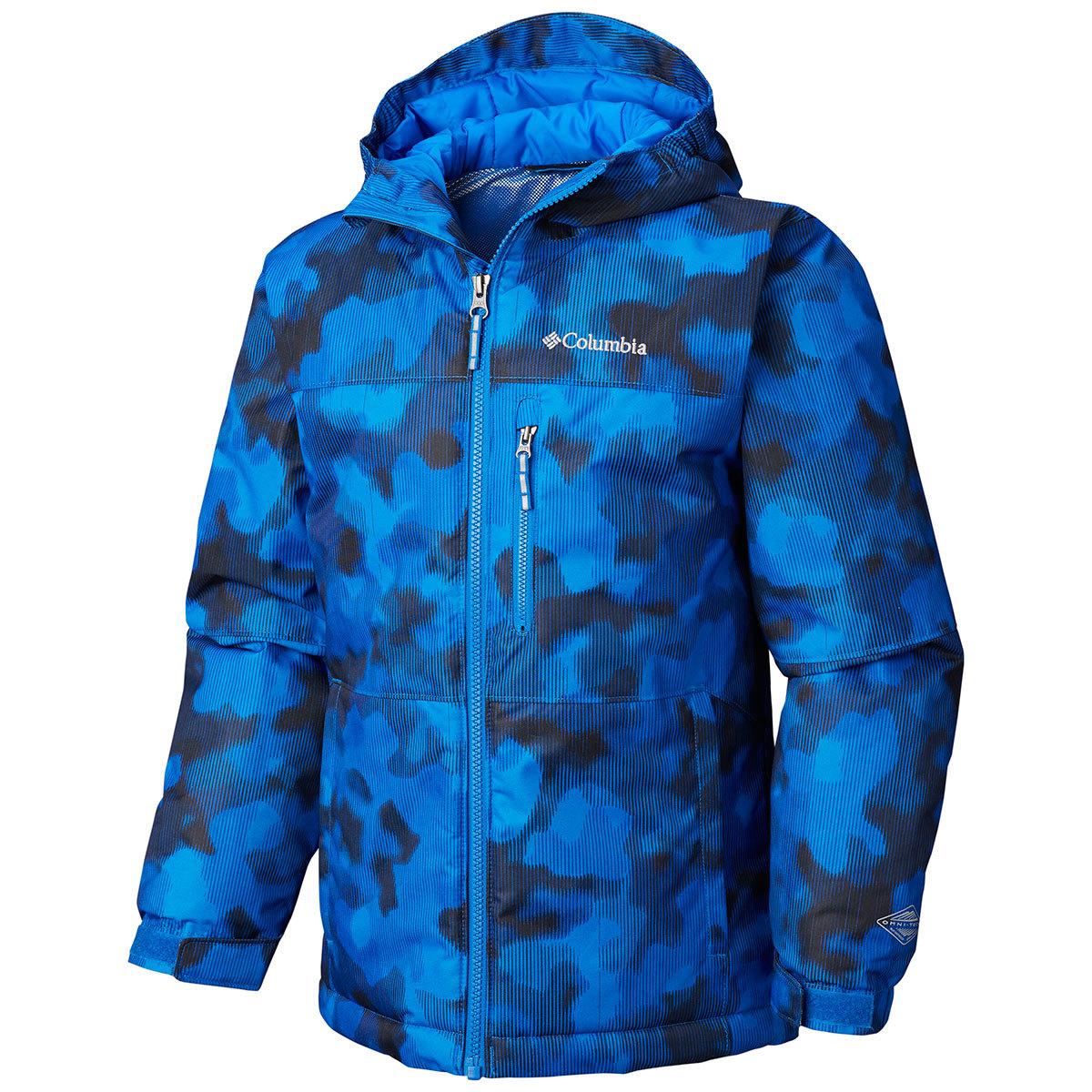 Columbia Boys' Magic Mile Jacket - Blue, S