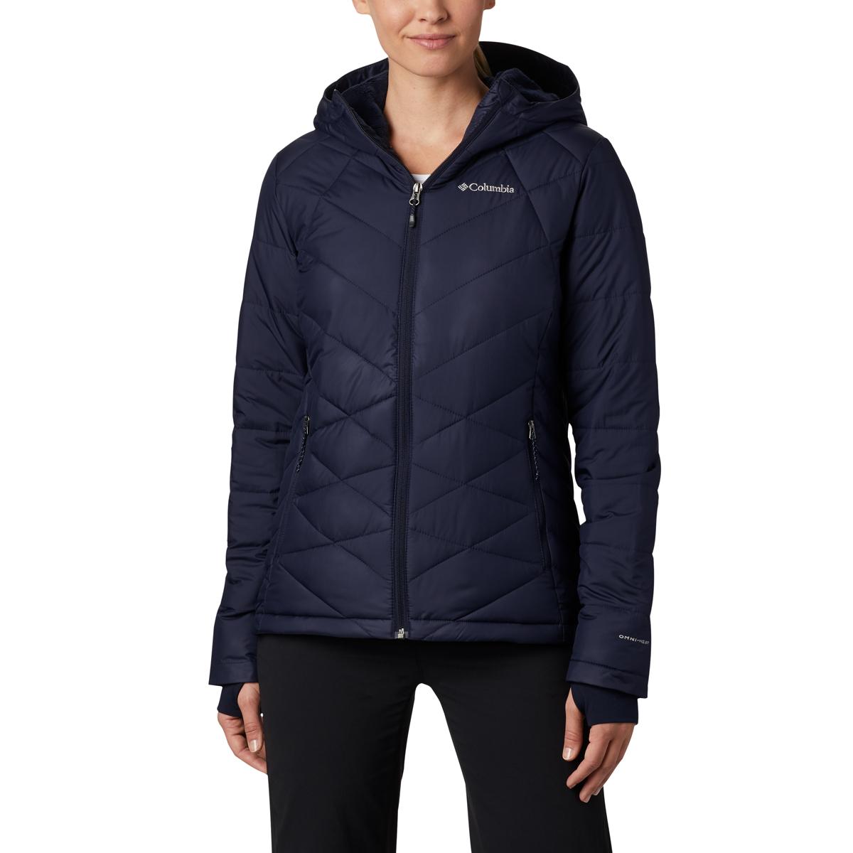 Columbia Women's Heavenly Hooded Jacket - Blue, L