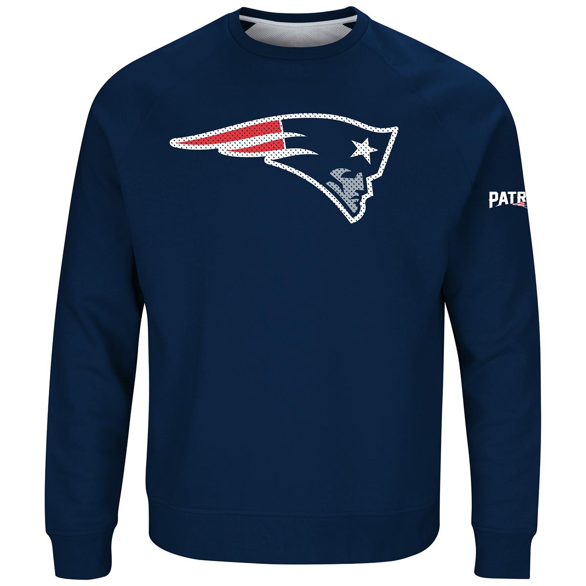 Patriots New Men's Sweatshirt Crew England Classic