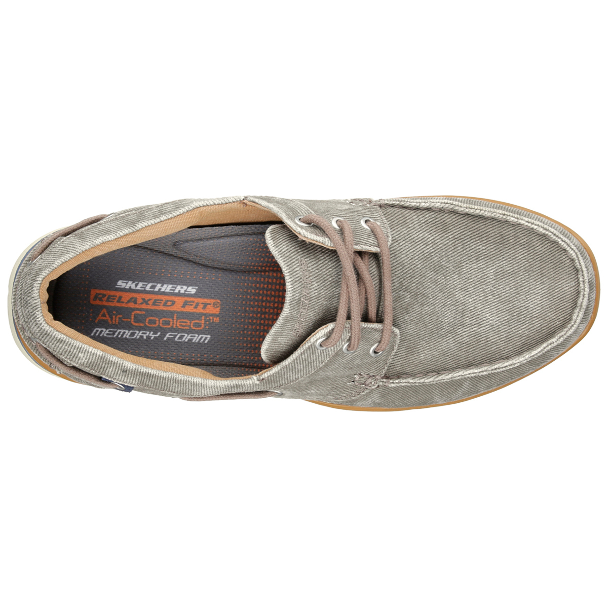Skechers Harper Moven Relaxed Fit Mens In BlackGrey