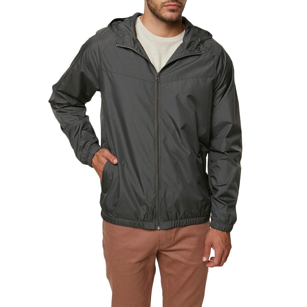 O'neill Guys' Traveler Windbreaker Jacket - Green, S