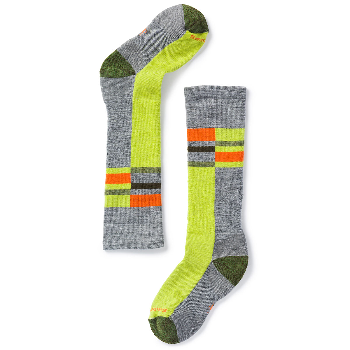 Smartwool Kids' Wintersport Stripe Socks - Black, L