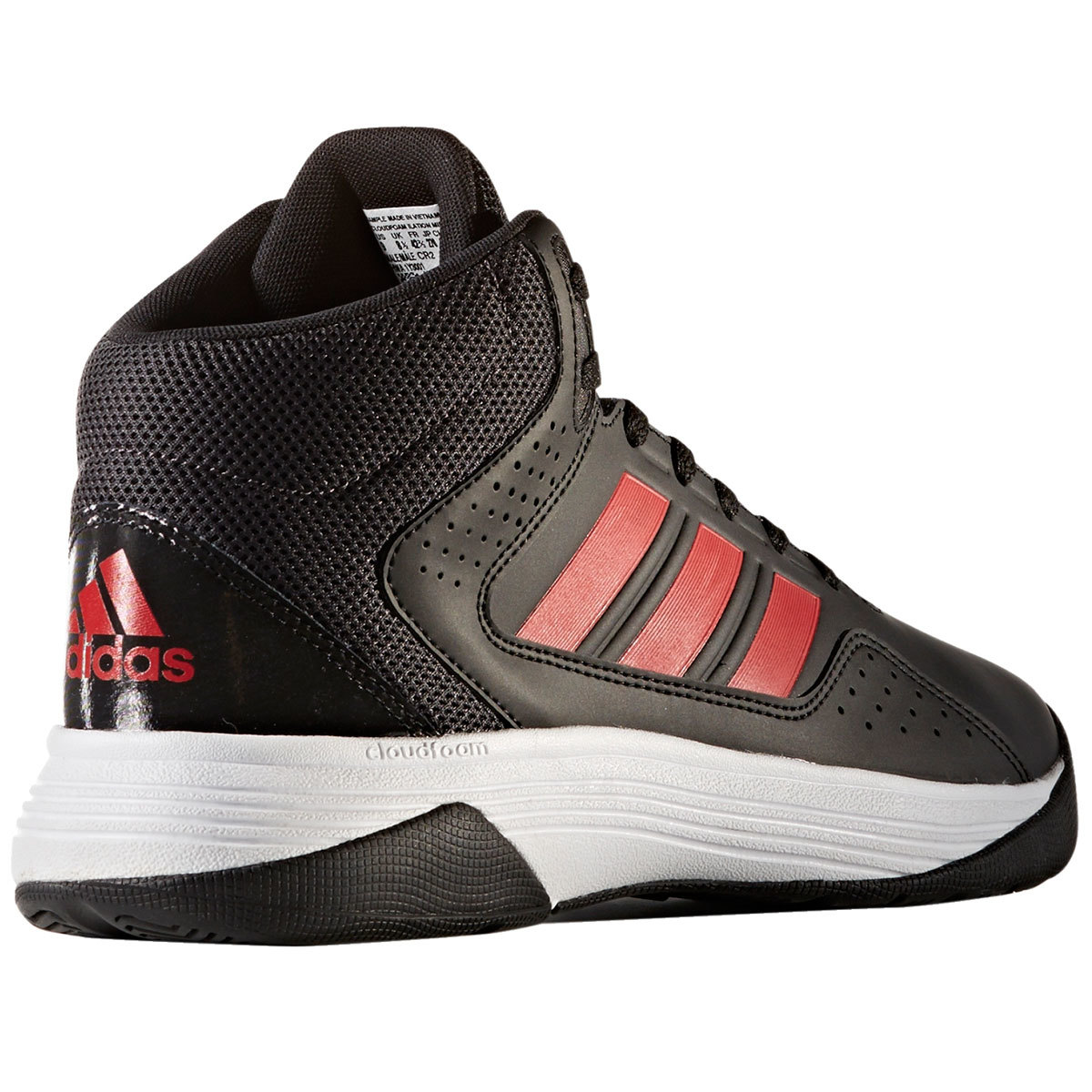 ADIDAS Men's Neo Cloudfoam Ilation Mid Basketball Shoes