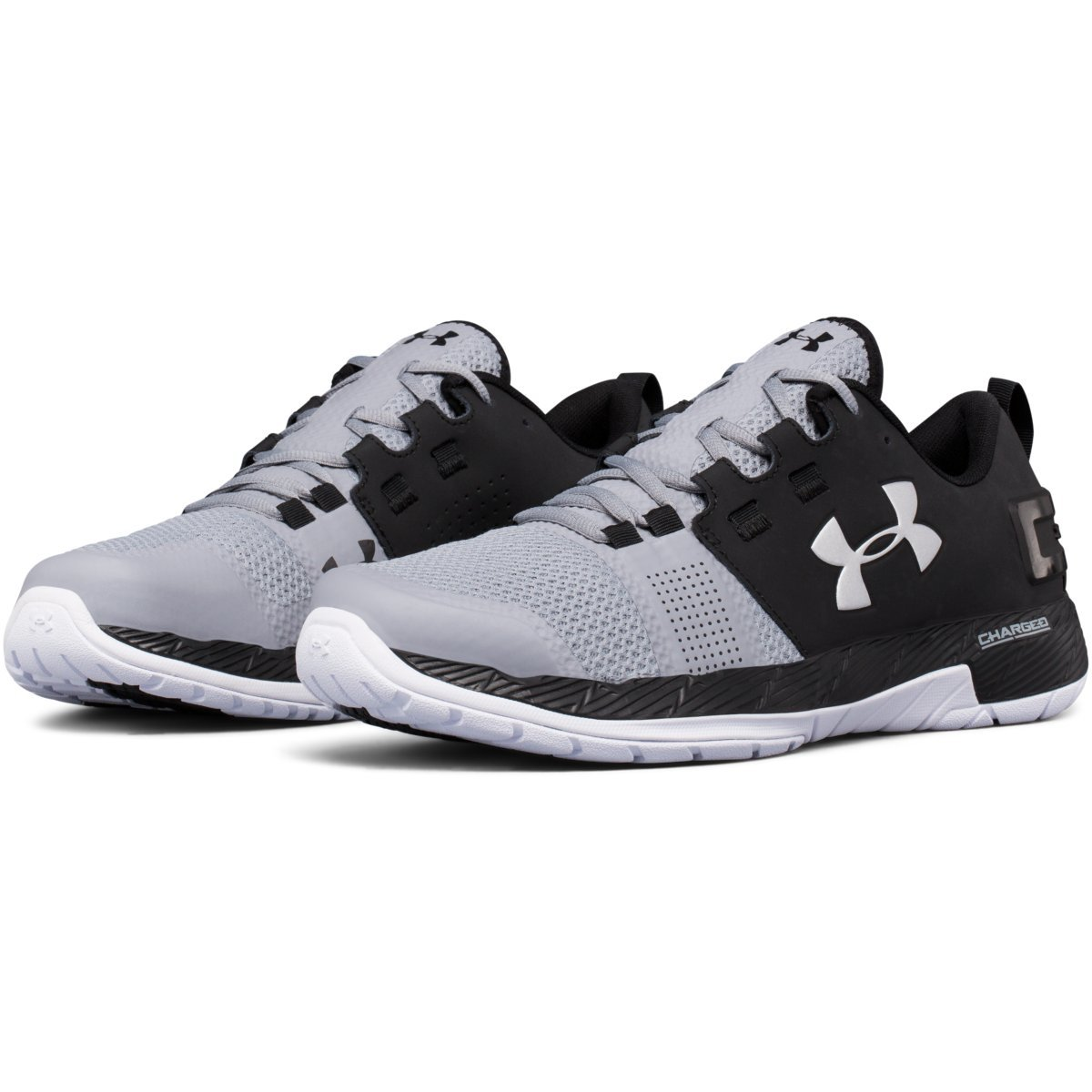 buy popular 43797 1fd11 UNDER ARMOUR Men's UA Commit Cross Training Shoes, Black ...