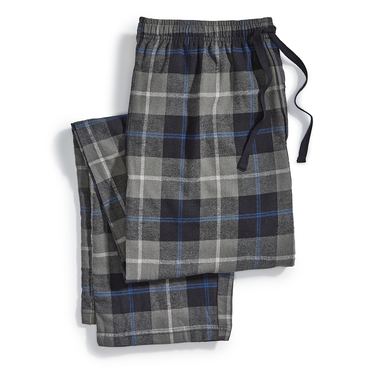 Ems Flannel Pajama Pants - Black, M