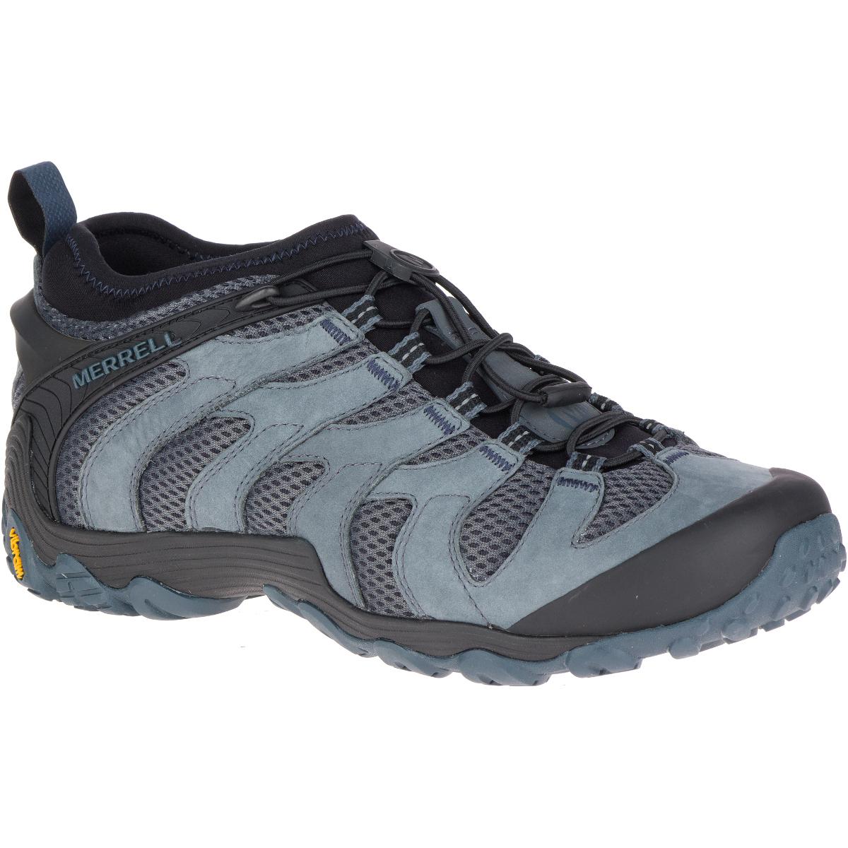 Merrell Men's Chameleon 7 Stretch Low Hiking Shoes - Black, 7.5